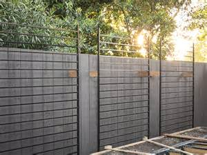Metal Garden Screen Trellis Using Metal Fence Panels As Trellises For The Vertical