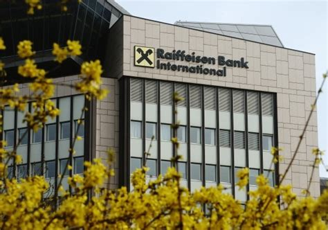 raiffeisen bank international ag profit of raiffeisen bank international reduced by 16 in