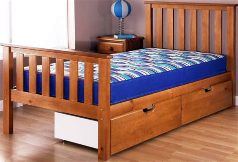 airsprung bed airsprung beds napoli cinnamon single bedstead with high