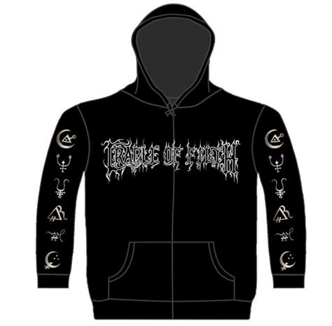 Hoodie Sweater Blood Sweat Ctrl Z Front Logo official cradle of filth hoody hoodie hammer of the witches all sizes ebay