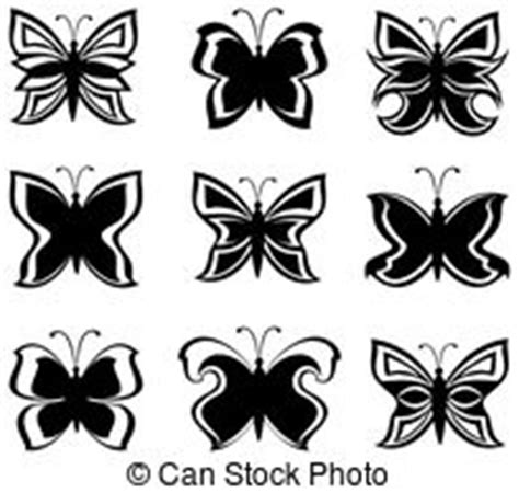 Tas Papillon 378 cliparts et illustrations de noir blanc 969 860