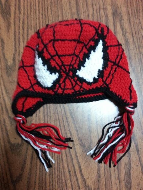 crochet pattern for spiderman scarf crochet spiderman hat 2012 things i have made
