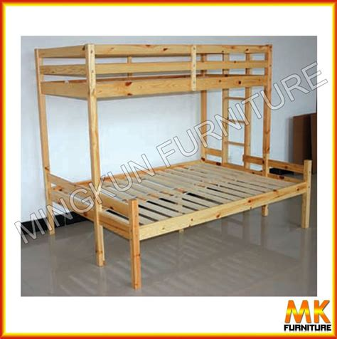 Pine Wood Furniture/double Deck Bed For Kids   Buy Wood