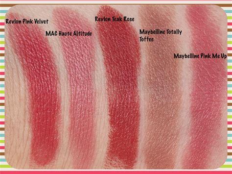 Lipstik Revlon Velvet revlon lustrous lipstick in pink velvet