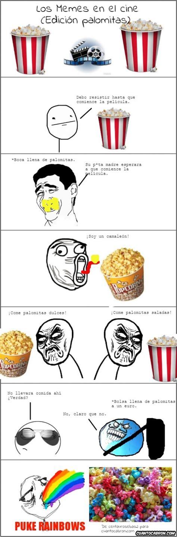 Cc Memes - cu 225 nto cabr 243 n los memes comiendo palomitas en el cine