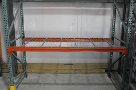Pallet Rack Wire Decking by Wire Decking For Pallet Racks Warehouse Wire Decking