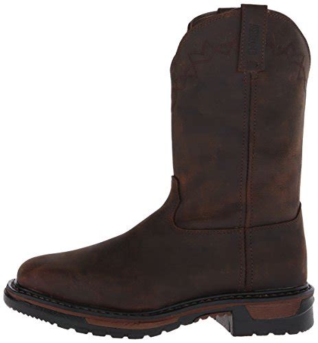 Boot Original Sepatu Boot Tracking Sepatu Steel Toe Safety rocky s original ride steel toe western work boot