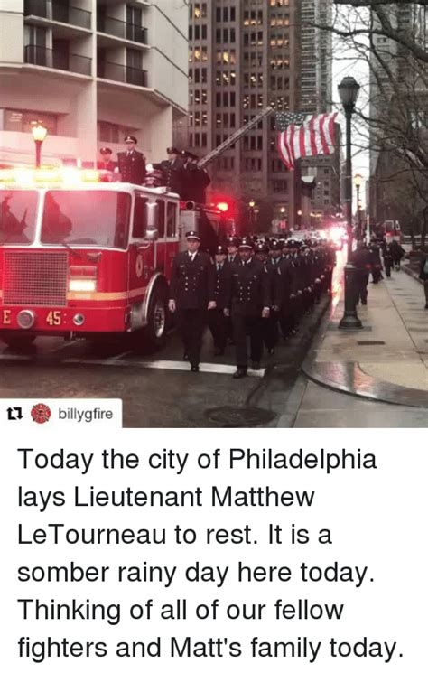 And The City The Is Here by Today The City Of Philadelphia Lays Lieutenant Matthew