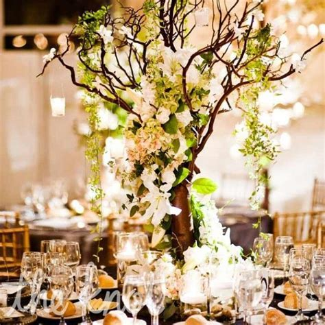 Tree Branch Wedding Centerpieces Ideas   Wedding