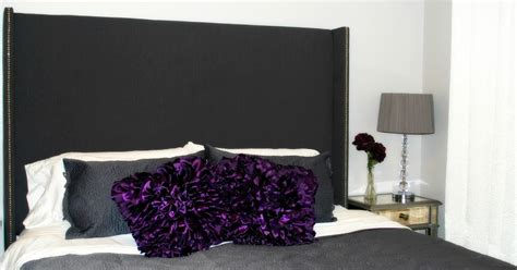Studded Headboard Diy by The Kurtz Corner Diy Wing Back Studded Headboard