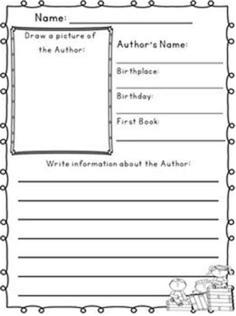author biography template ks2 1000 images about eric carle author study on pinterest