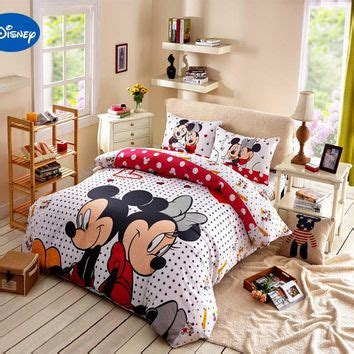 Bed Cover Set Mickey Polka 120x200 best comforter set products on wanelo