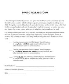 Photography Release Form Template by Photo Release Form Template 9 Free Pdf Documents