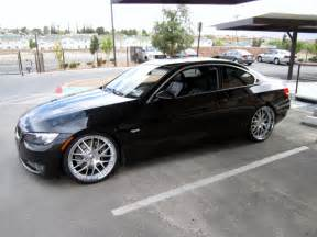 2009 bmw 335i with 20 quot d2 forged vs1 wheels