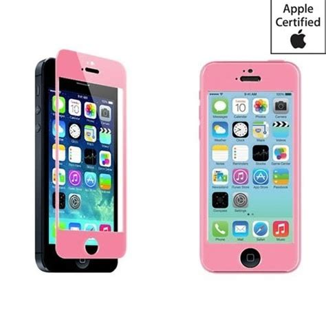 Trendy Tempered Glass Warna Color Iphone 6 Plus High Quality Pa ijoy tempered glass for all iphone 5 6 colors