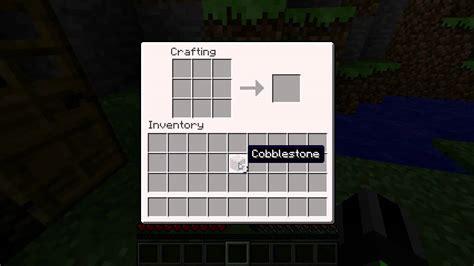 minecraft blocks items crafting tables