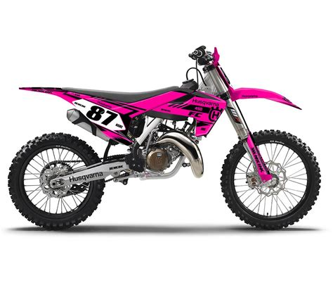pink motocross bike gold dirt bike graphics pictures to pin on pinterest