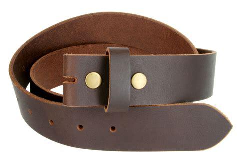 belt snap on solid hide 100 one leather belt