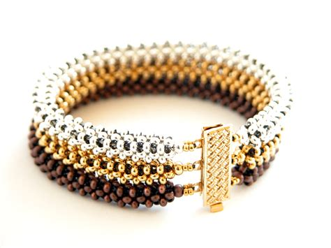 beading bracelets beadsforever metal duos and rizos