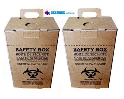 Kursi Roda Standar Rumah Sakit safety box rumah sakit tempat limbah medis jarum suntik