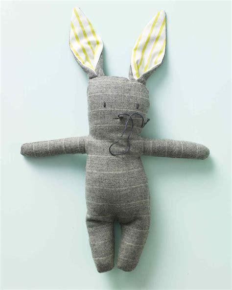 stuffed menswear bunny martha stewart
