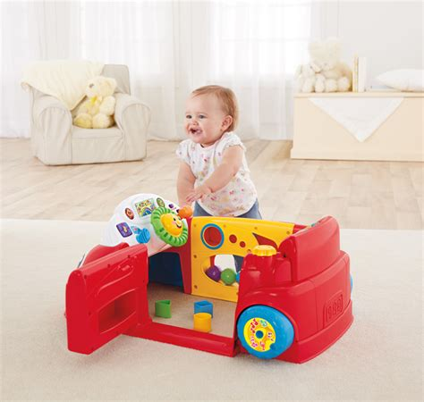 to 9 month baby girl christmas gifts fisher price laugh and learn crawl around car toys