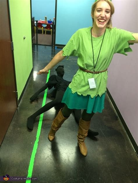peter pan   shadow couples costume photo
