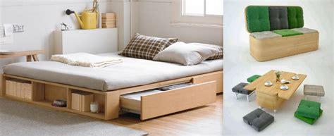 muebles multifuncionales de madera una solucion
