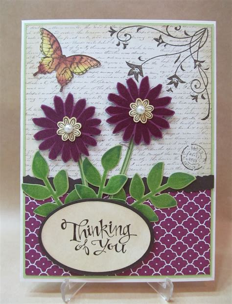 Handmade Thinking Of You Cards - savvy handmade cards thinking of you card