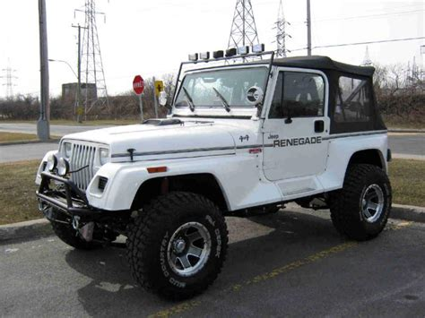How Do Jeeps Last Jeep Yj Renegade 1992 13000 00 Discutable Jeeps Canada