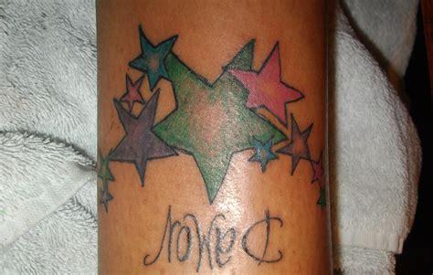 Arm Sterne by Sterne Arm Bettiii Lilien Auf Oberarm Tattoos