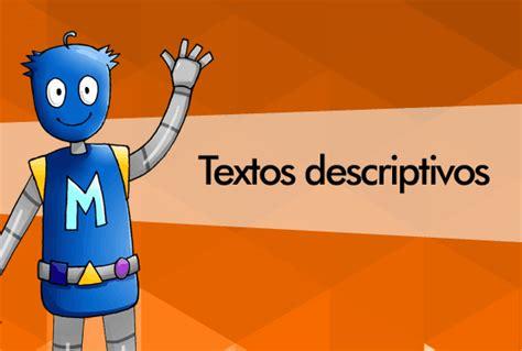 texto descriptivo corto textos descriptivos