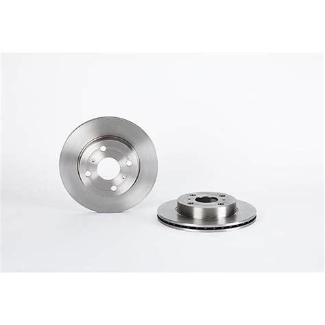 front brake discs 235mm vented toyota yaris vitz mk1 brembo 09 b309 10 ebay
