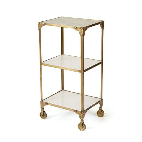 brushed brass desk l ayden in antiqued brushed brass iron with