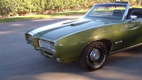 Green For Sale Sold 1969 Green Gto Convertible For Sale By Corvette Mike