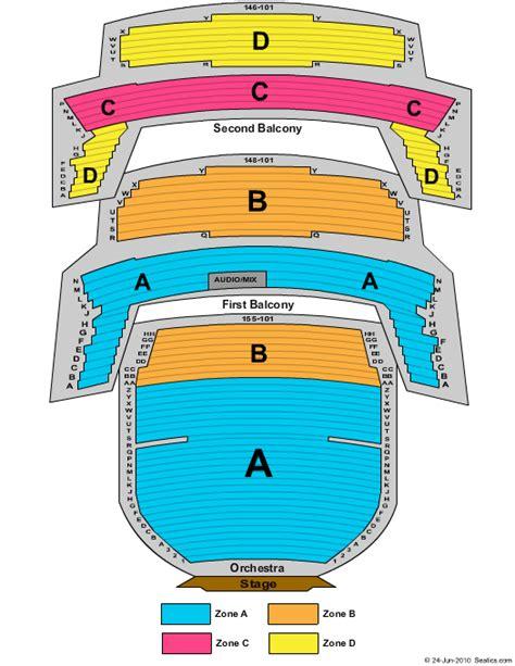 bass concert hall seating chart
