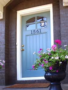 blue front doors 10 budget updates and easy cosmetic fixes diy home decor