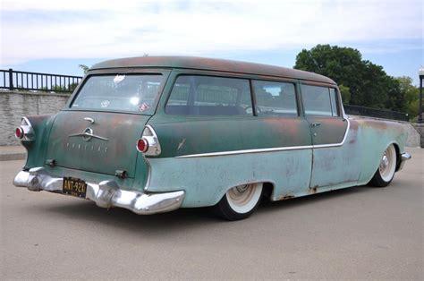 ford chieftain 1955 pontiac chieftain 2 door wagon
