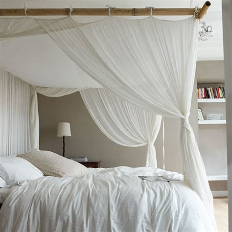 curtains around bed neutral bedroom with white curtains around bed neutral