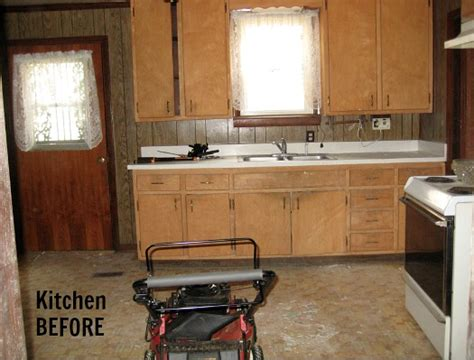 How To Fix Up Old Kitchen Cabinets | fixing up an old cottage from the 1940s