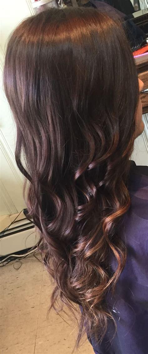 highlights underneath hair dark brown with subtle highlights underneath hair i ve