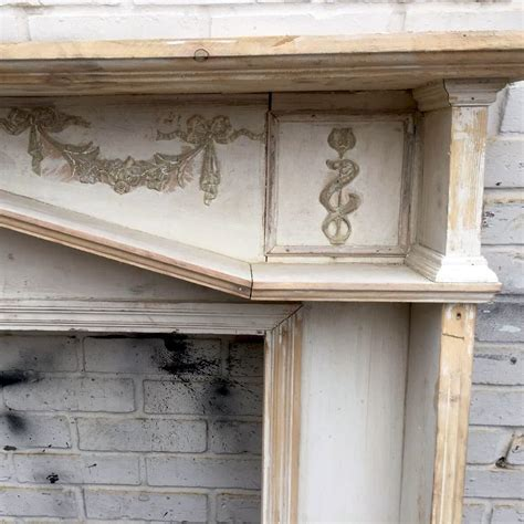 Antique Wooden Fireplace Surrounds by Antique Wooden Fireplace Surround For Sale
