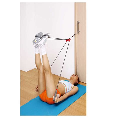 Door Knob Exercise Ropes by Actionline Actionline Ky 63023 Fitness Pilates Door Knob