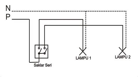 Saklar Ac Rumah gambar diagram kerja saklar seri 2 lu wiring library