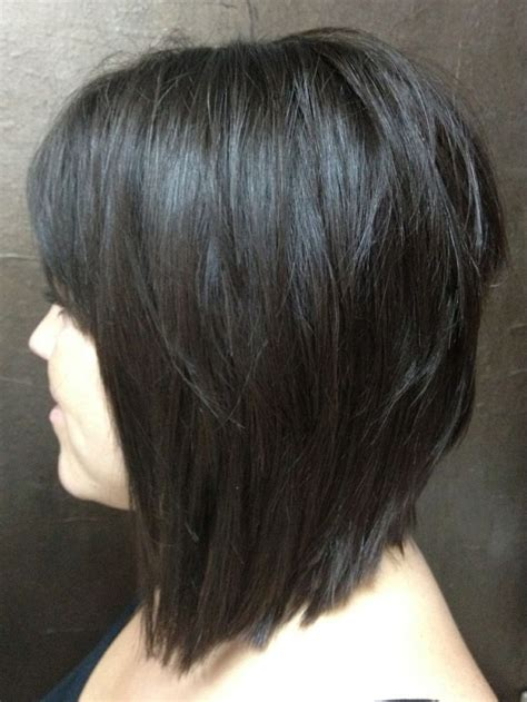 would an inverted bob haircut work for with thin hair growing an inverted bob haircut into longer layers