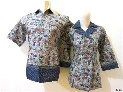 desain baju batik suami istri baju batik pasangan suami istri grosir batik pekalongan