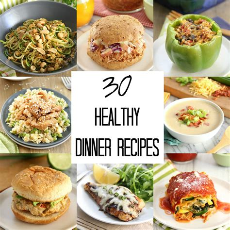 food dinner recipes 30 healthy dinner recipes eat drink