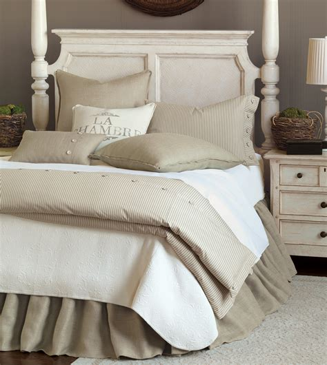 Burlap Bedding Sets with Luxury Bedding By Eastern Accents Rustique Burlap Collection