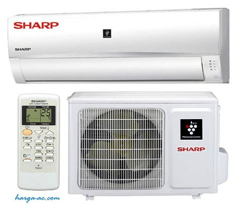 daftar harga ac sharp terbaru april 2018 air conditioner