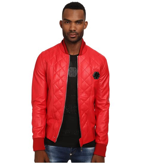 Philipp Plein Counture 8005 philipp plein no one leather jacket in for lyst